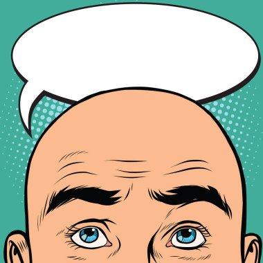 Thoughts men bald head