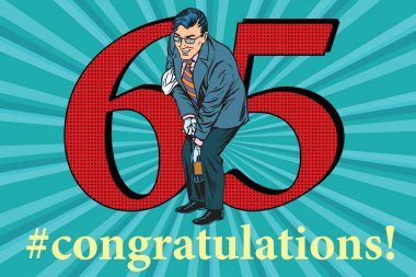 Congratulations 65 anniversary event celebration