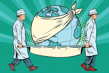 Earth day, nurses and a sick planet