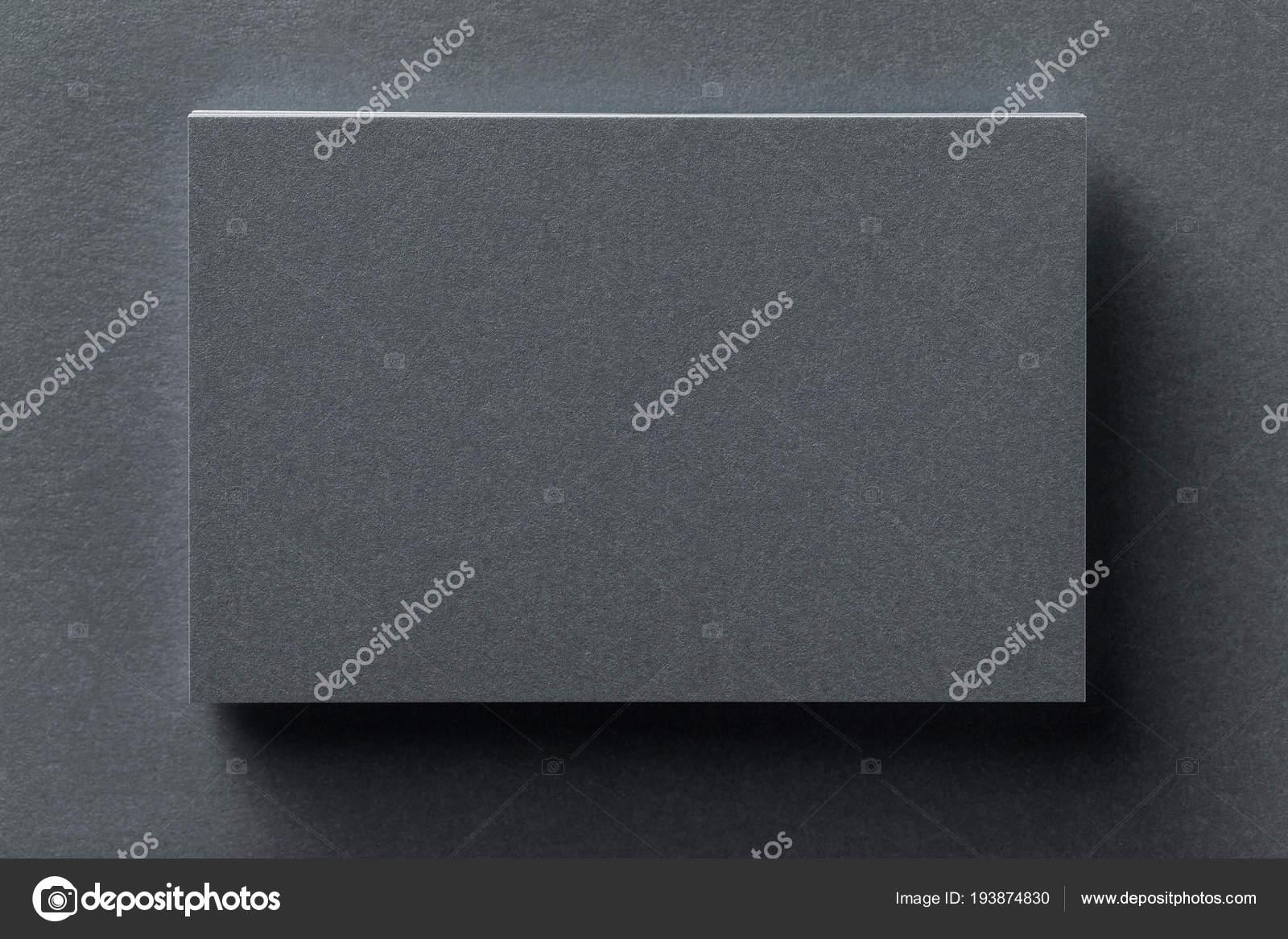 Mock Up Silber Visitenkarte Stapel An Strukturierten
