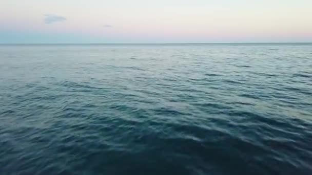 July 2017 sea near border of Abkhazia and Russia