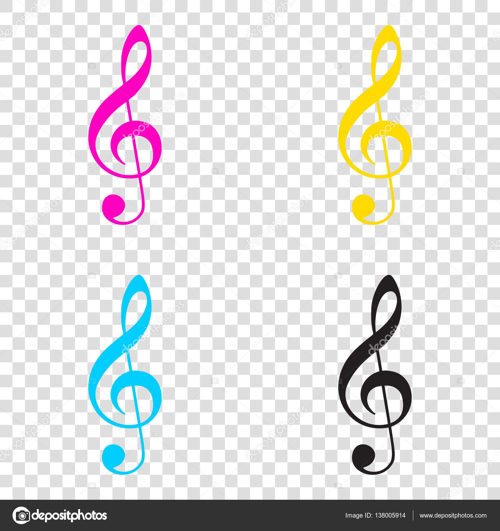 Скачать скрипичный ключ