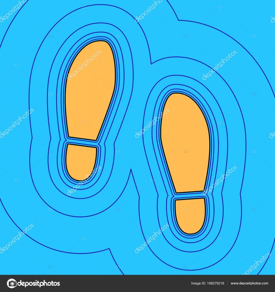 Muestra Color SuelasVectorIcono Zapatos De Impresión K13JuclFT