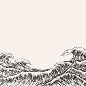velké mořské vlny