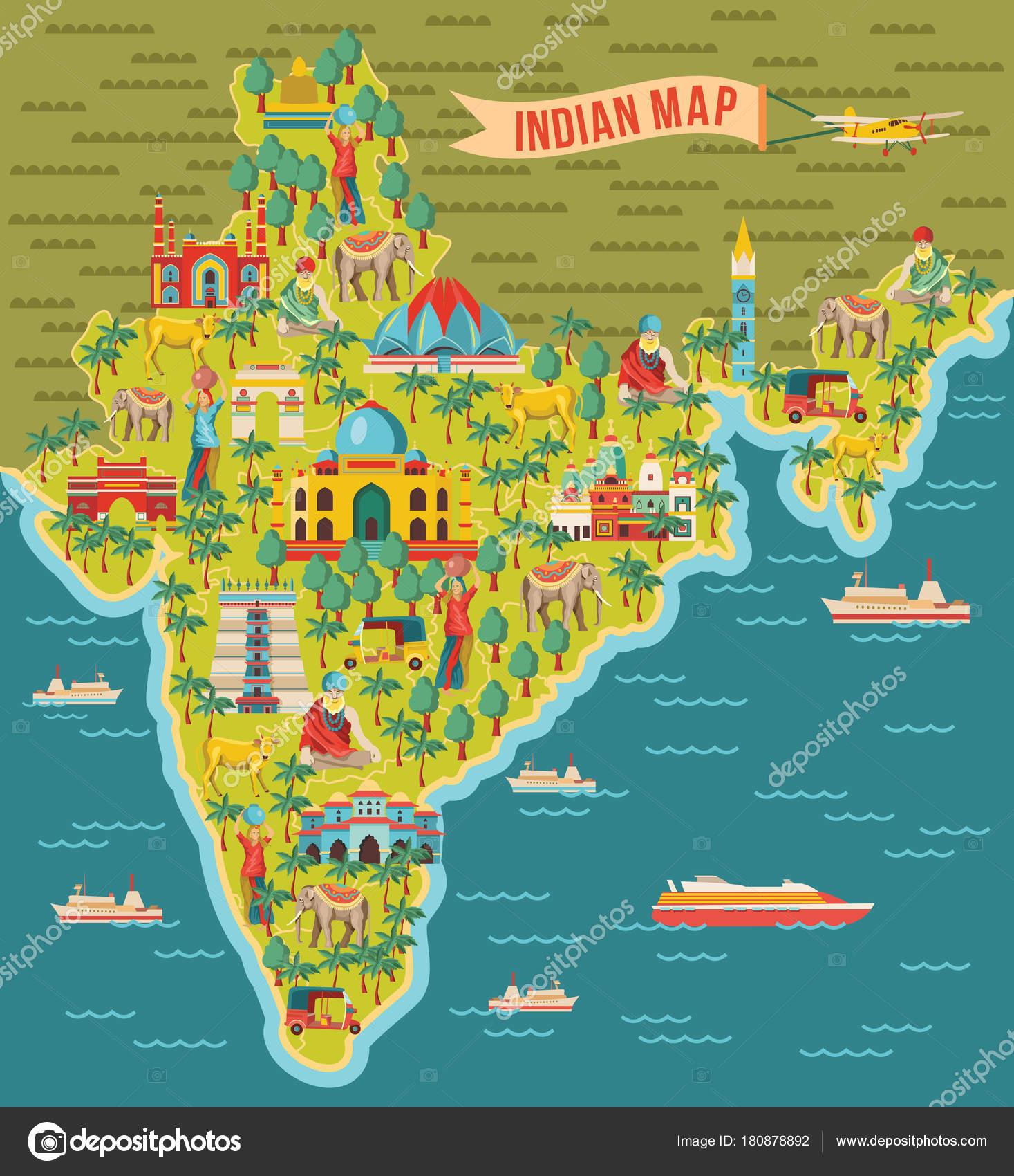 india mapa Fondo Mapa India Ilustración Vectorial — Archivo Imágenes  india mapa