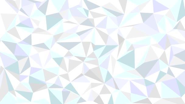 Animované pozadí abstraktní z trojúhelníků.