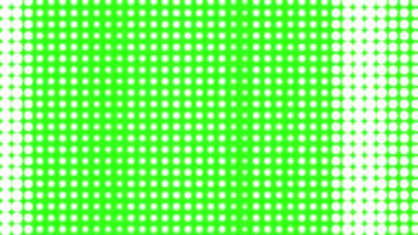 Animované pozadí z bodů a kruhy.
