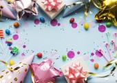 Všechno nejlepší k narozeninám nebo párty pozadí