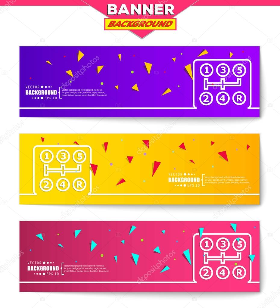 abstract creative concept vector background for web and mobile, Presentation templates