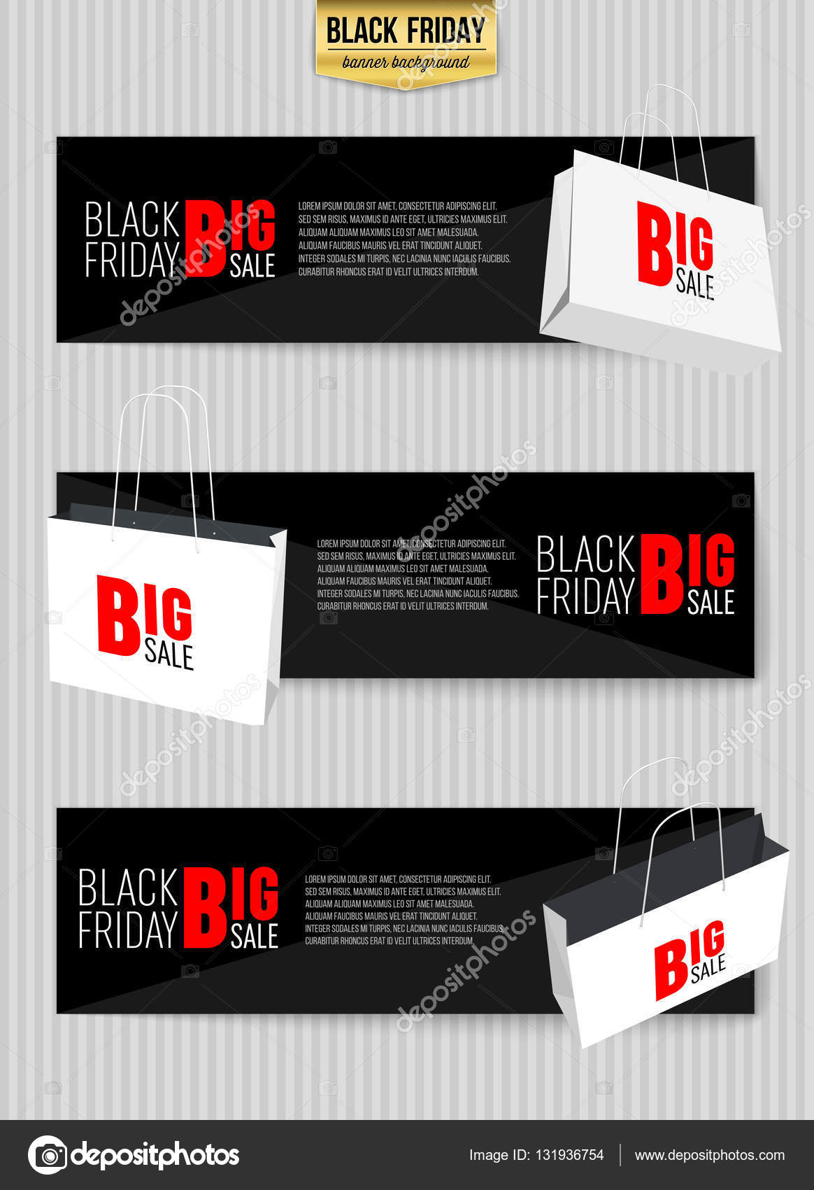 Fondo de vector abstracto negro viernes venta diseño. Para el ...