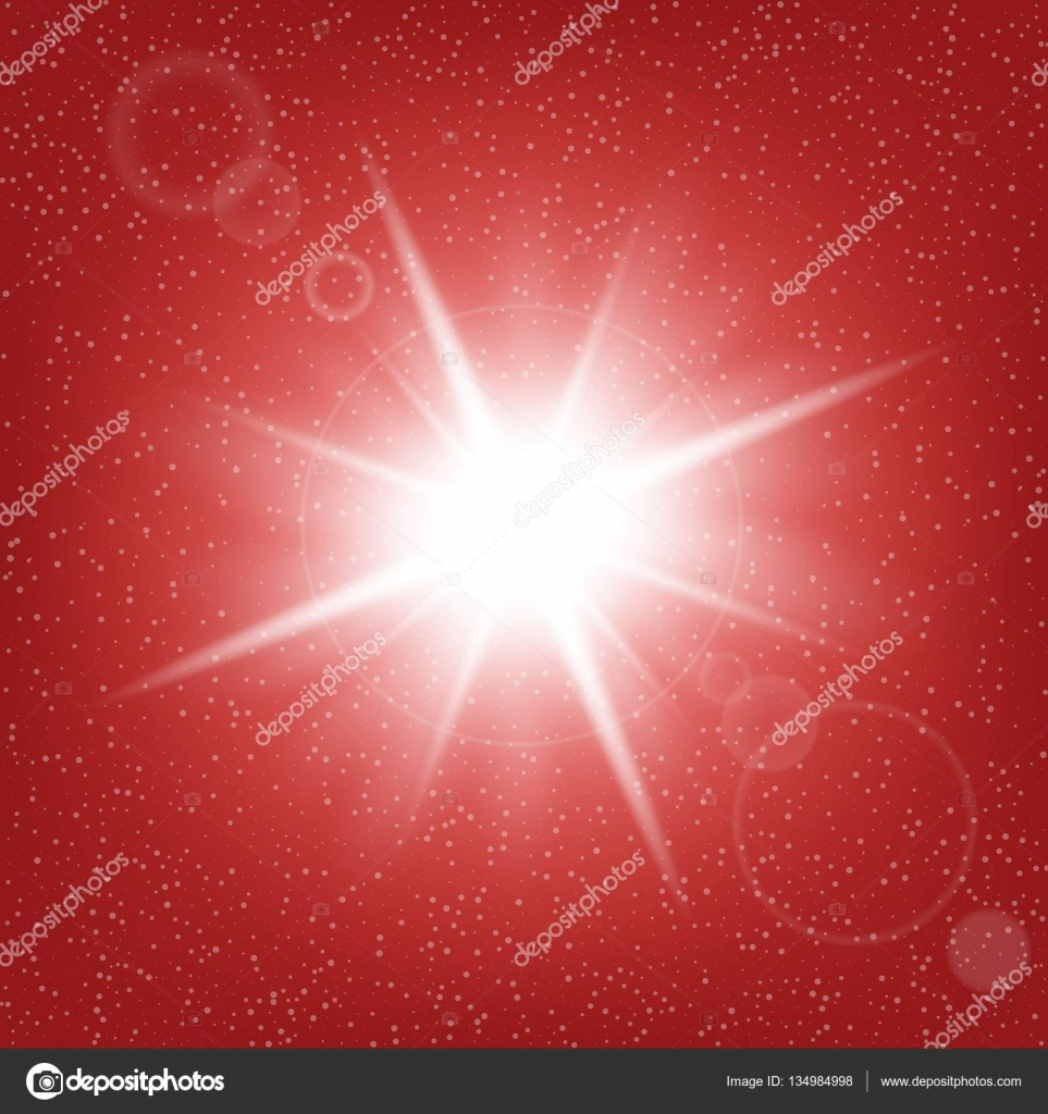 Creative concept vector set of glow light effect stars bursts with.