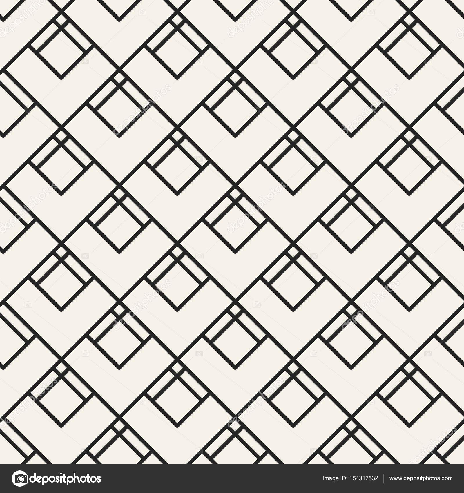 Abstract Concept Vector Monochrome Geometric Pattern Black And