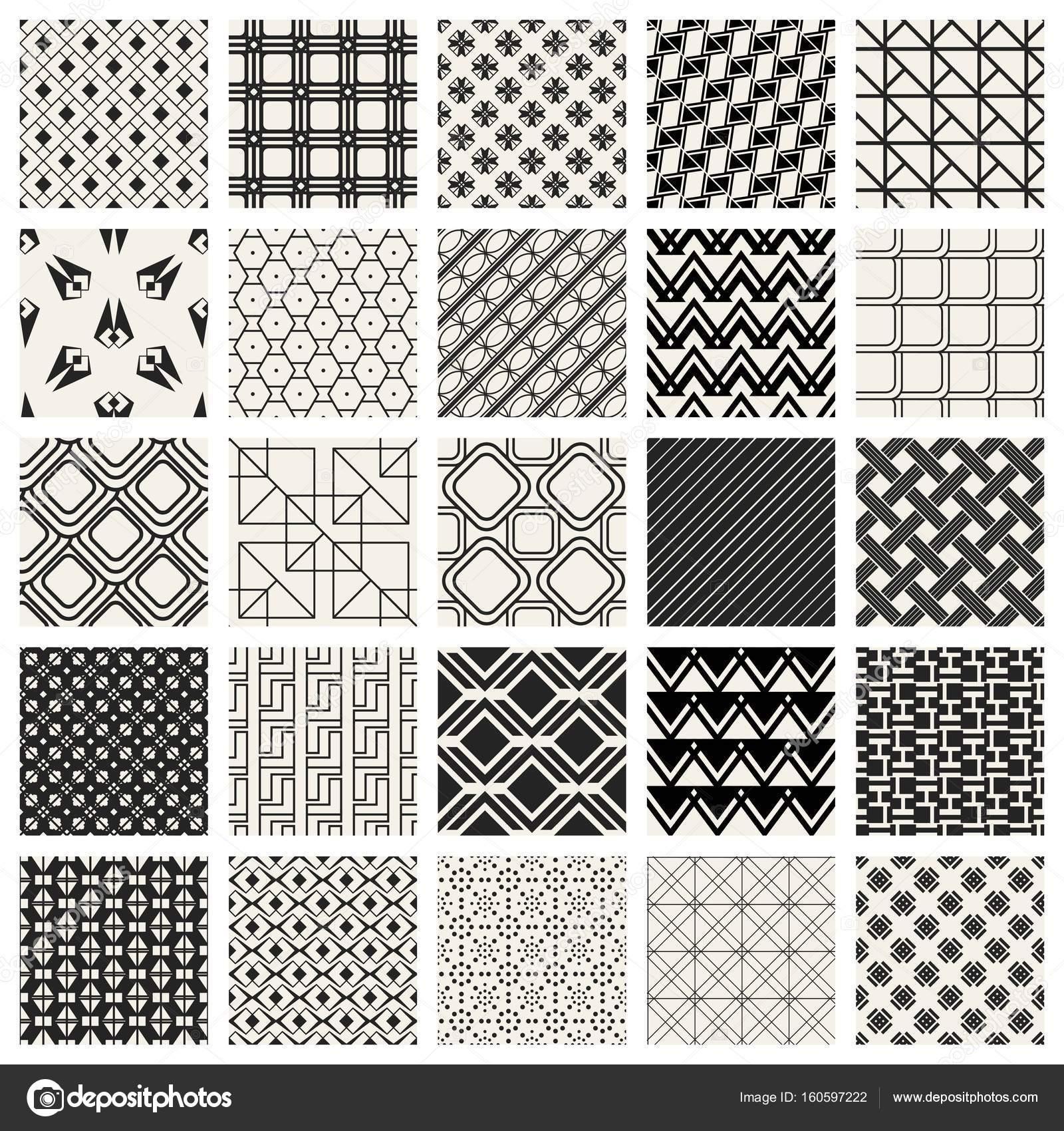 抽象的な概念ベクトルの白黒の幾何学模様黒と白の最小限の背景