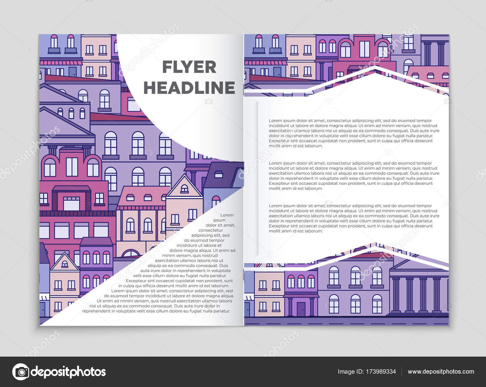 Atemberaubend Haus Flyer Schablone Bilder - Bilder für das ...