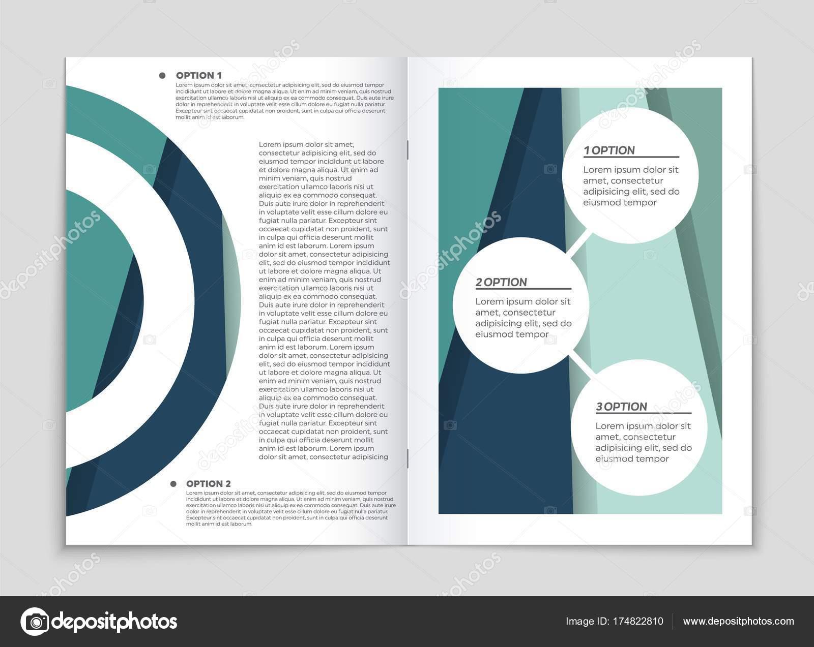 Abstraktes vektor layout hintergrund set für kunst template