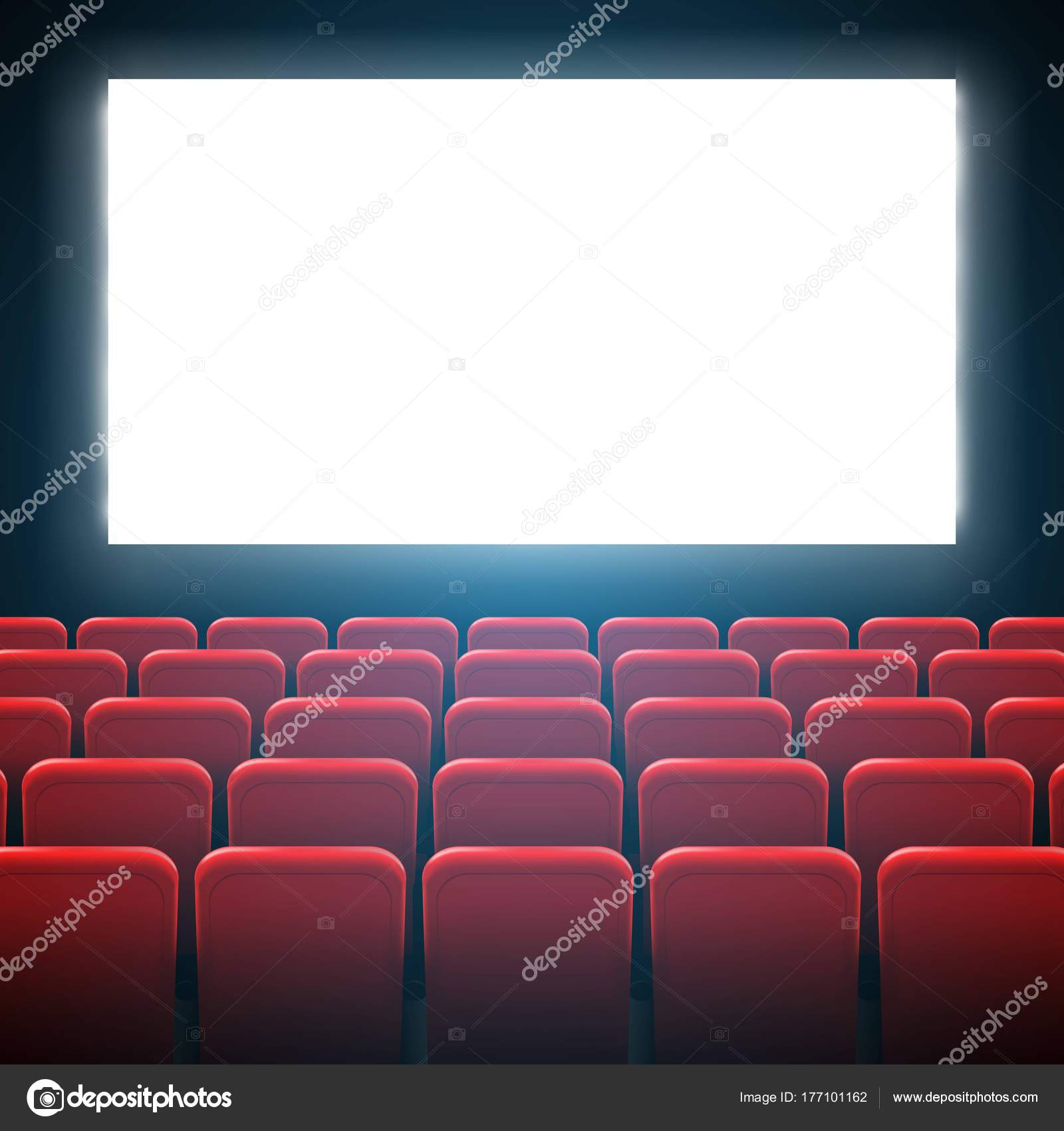 Ilustración de vector creativo de marco de pantalla de cine Cine y ...