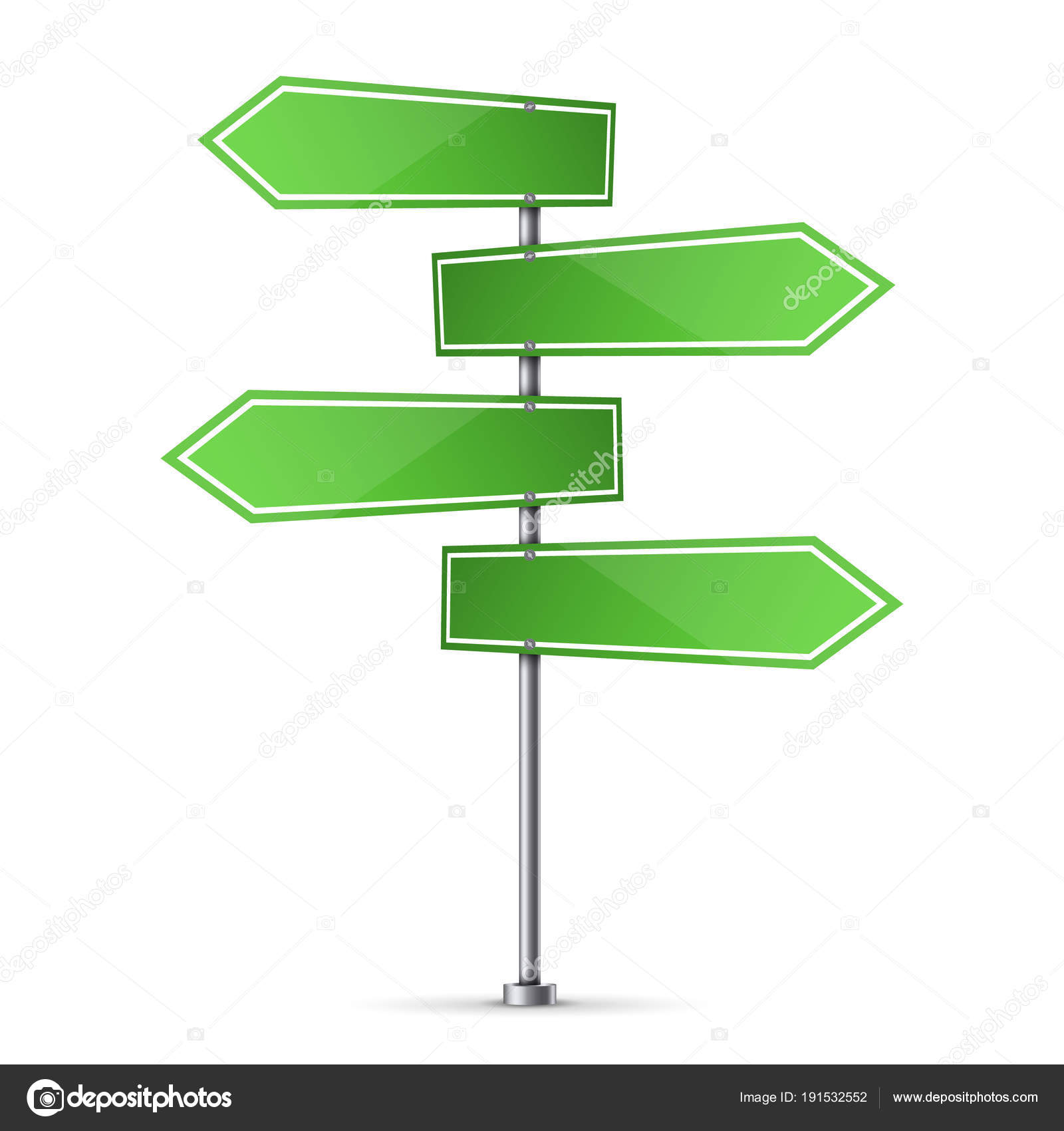 Creative Vector Illustration Of Road Sign Isolated On Background