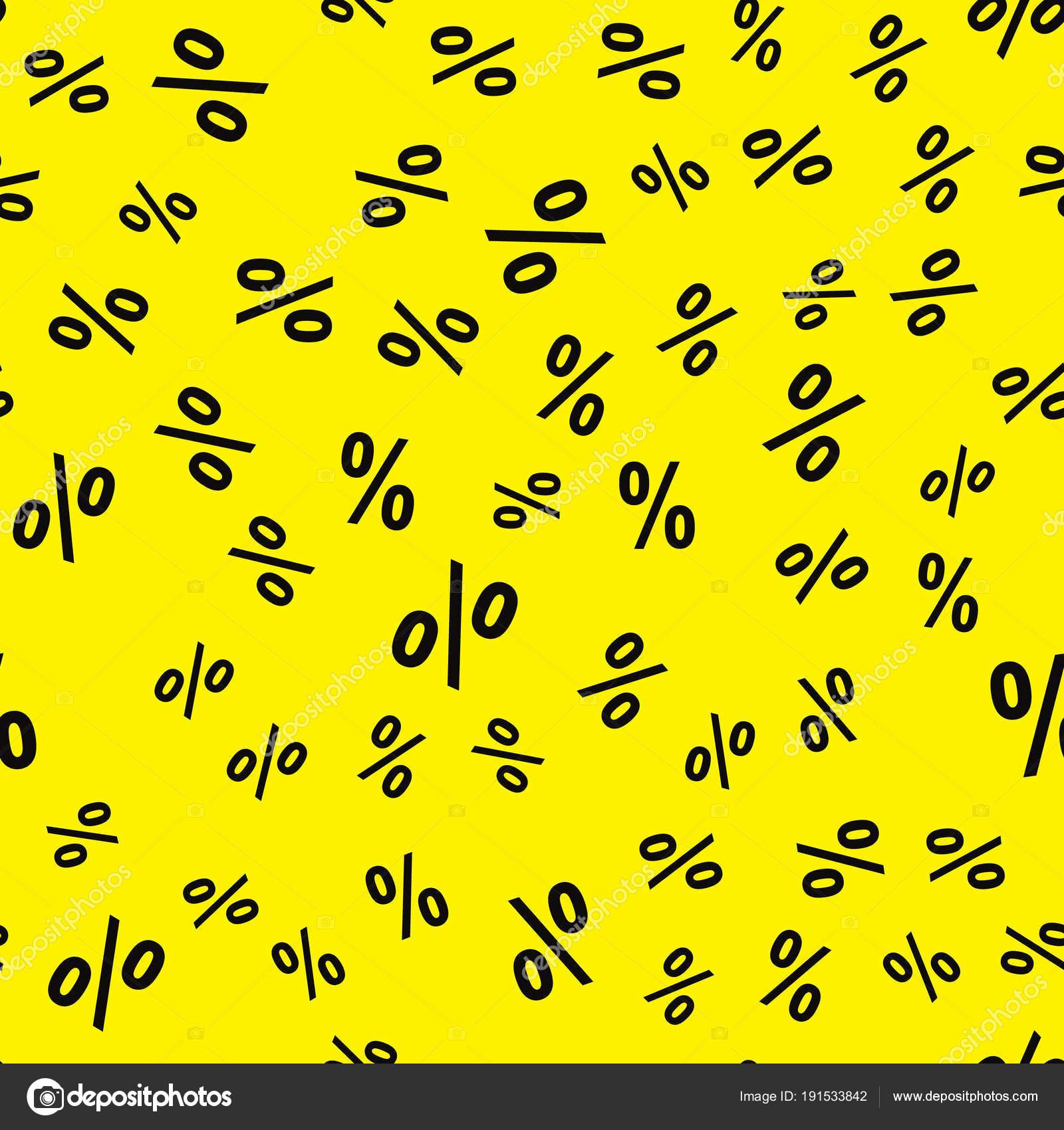 Kreative Vektor Illustration Prozent Betriebswirtschaftlichen