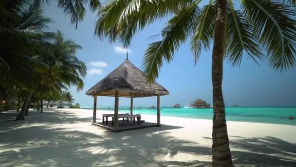 trópusi sziget a Maldív-szigeteken
