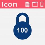 Plochý ikona váhy