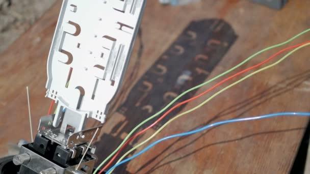 Instalace kabelu Internetu