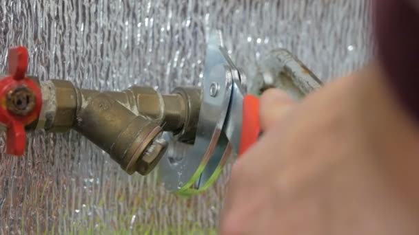 plumbing in the house. Master repairs plumbing