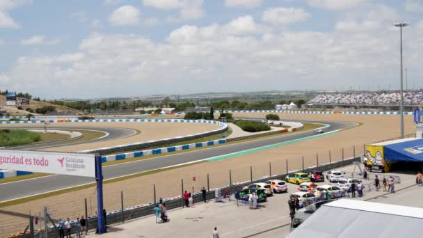CADIZ - MAY 28: World Series Formula V8 3.5 at Jerez de la Frontera Circuit on May 28, 2017 in Cadiz, Spain
