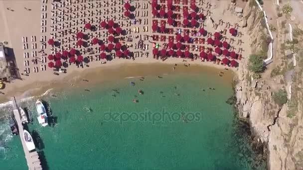 Mykonos Beach in Greece