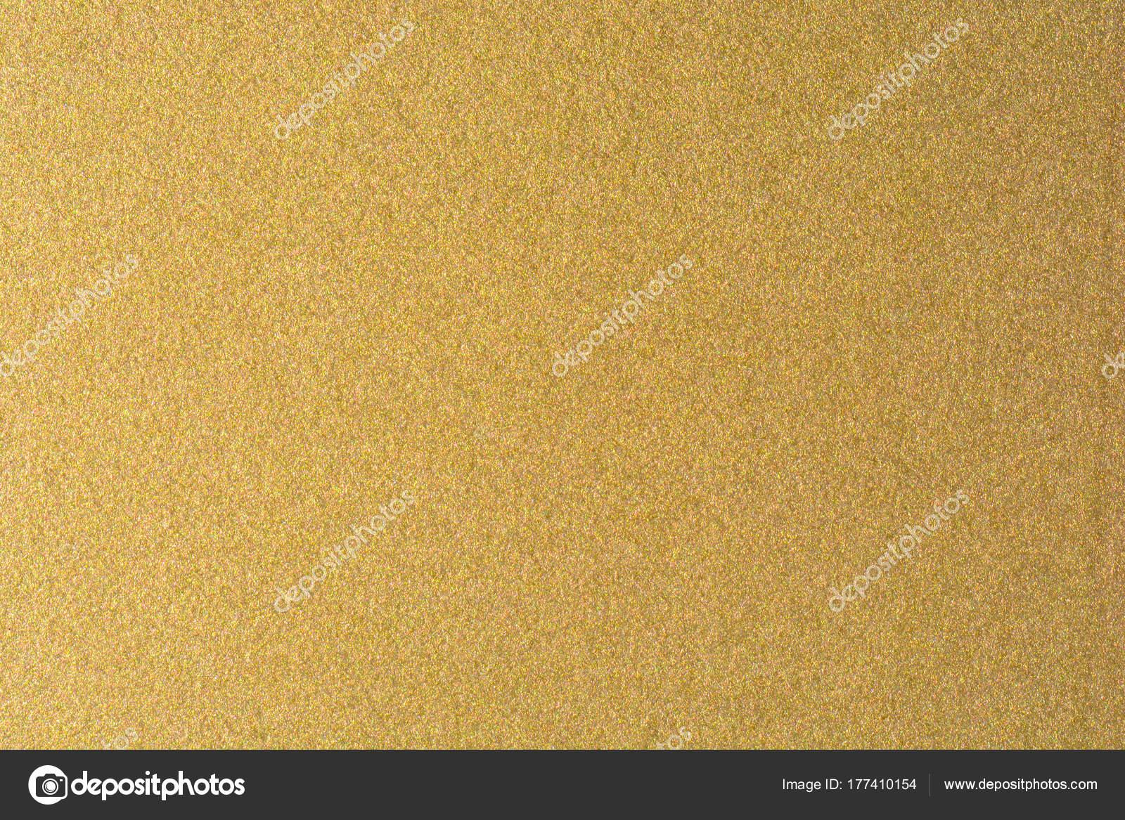 Détails Du Fond De Texture Dorée Mur De Peinture Couleur Or