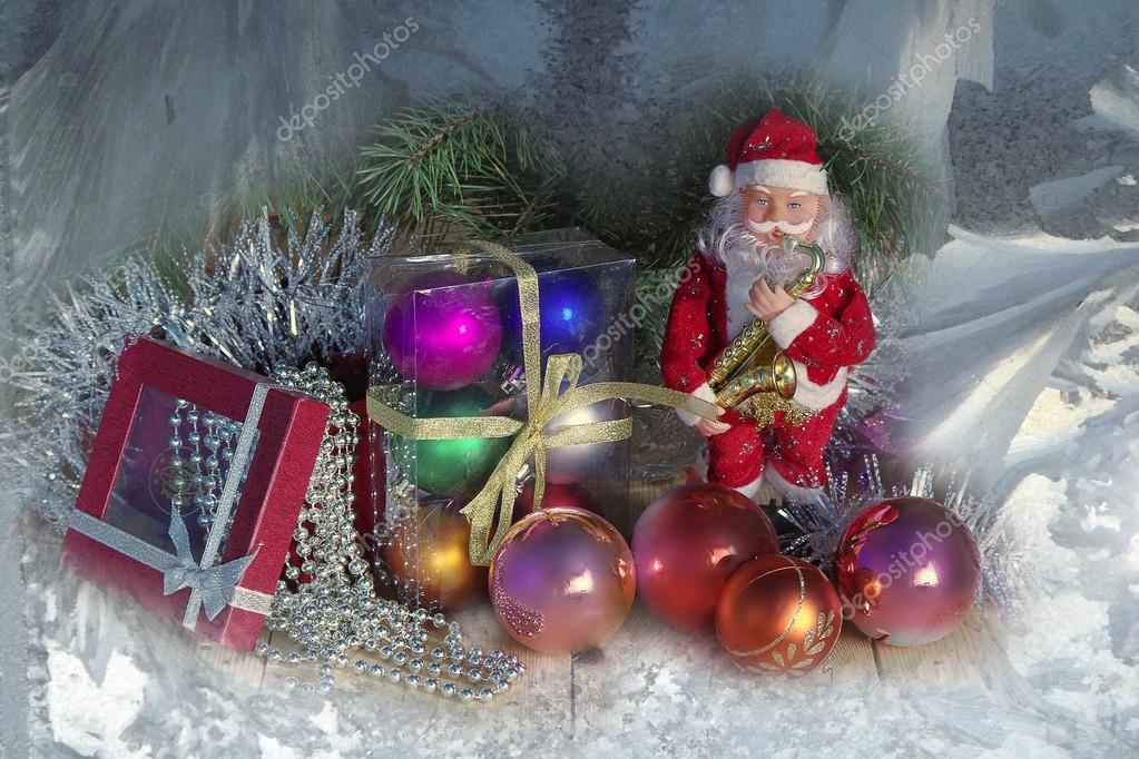 Google Weihnachtsbilder.Weihnachtsbilder Mit Weihnachtsmann Und Weihnachten Kugeln Und