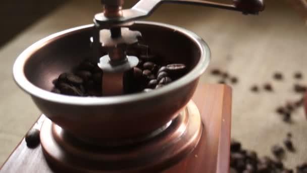 Making coffee in cezve