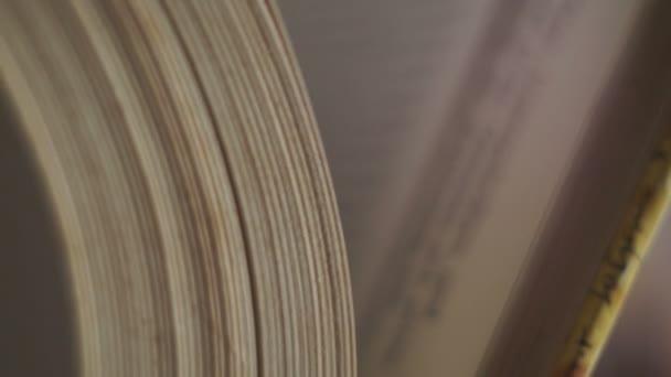 Kniha je velká velikost v lidské ruce