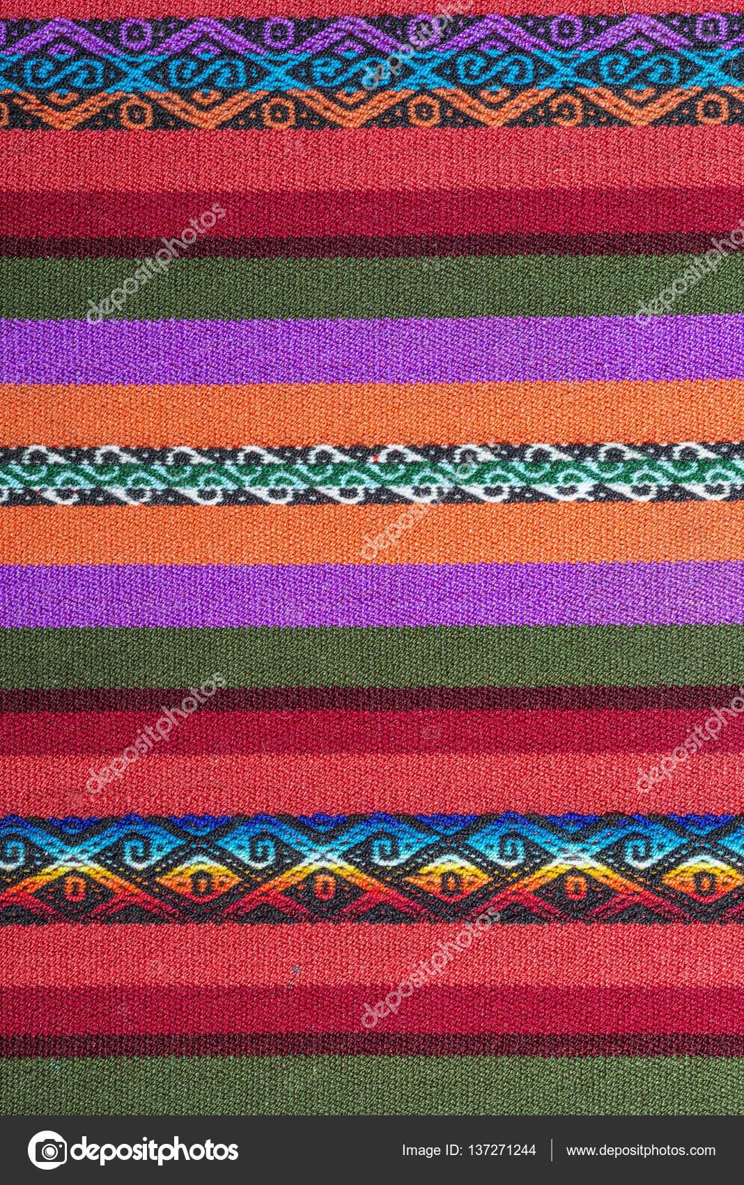 Telar de Aguayo andino — Foto de Stock 728b4d9aea7