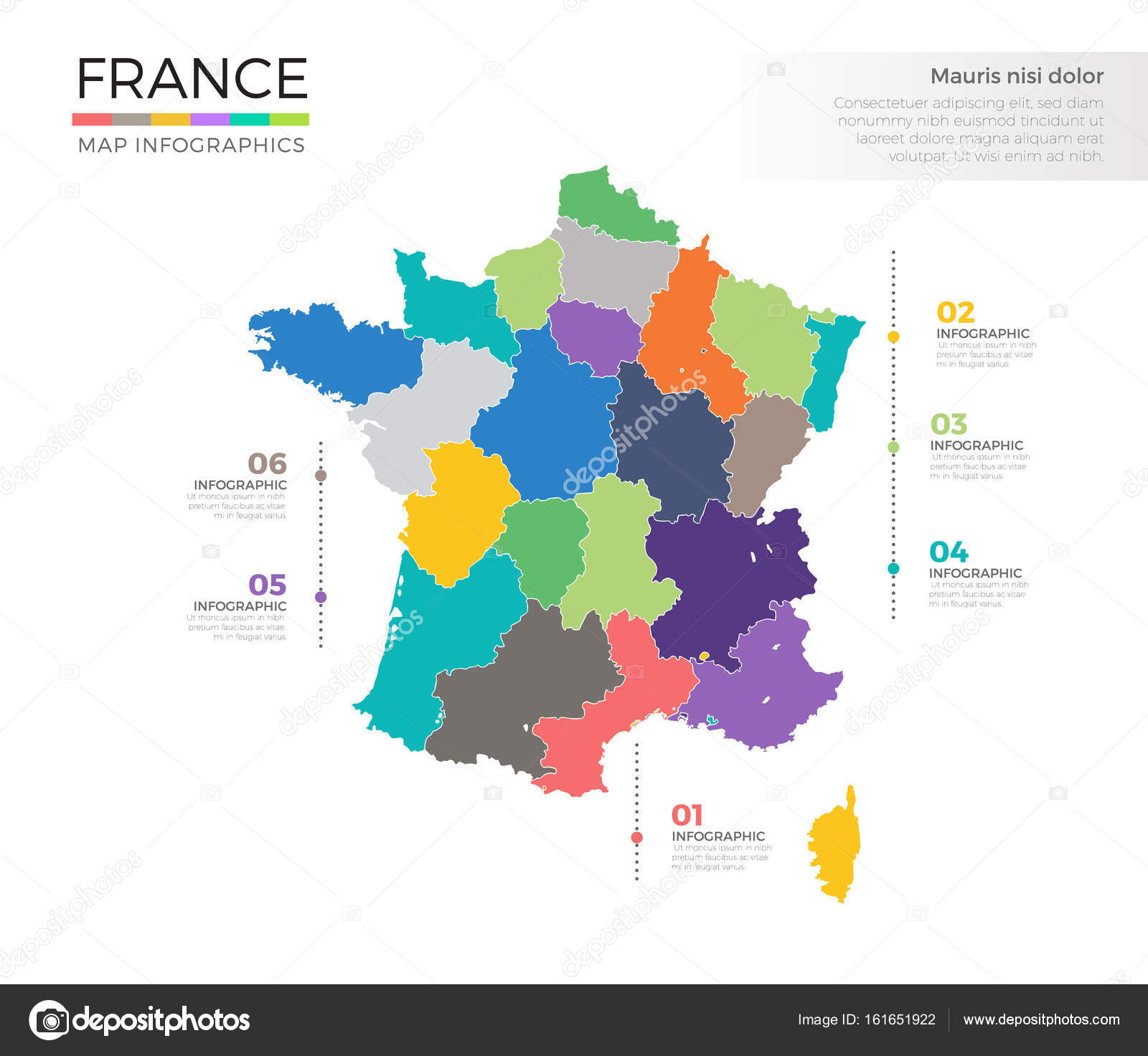 Country Map Of France.France Country Map Stock Vector C Pixar 161651922
