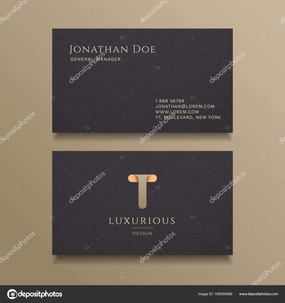 Luxury business card design — Stock Vector © pixar #165550066