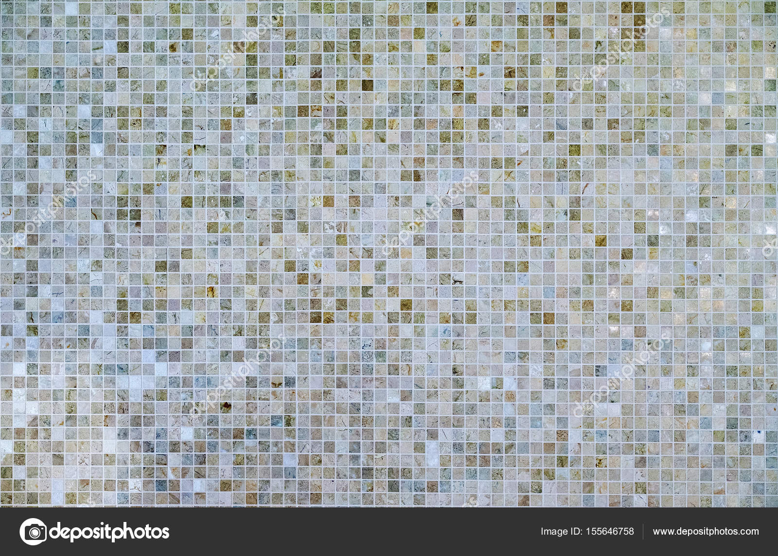 Large square seamless texture of mosaic tiles — Stock Photo ...