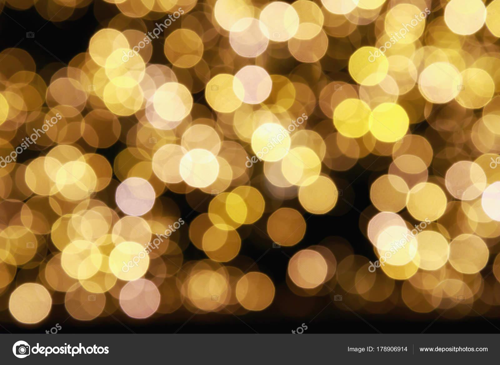Blurry Round Lights, LED Lights. Point Light On Dark Background. U2014 Photo By  Polifoto