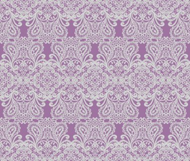 Seamless pattern border. Openwork weaving delicate, silver background, shiny lace, vintage old style arabesques. Edging decorative.