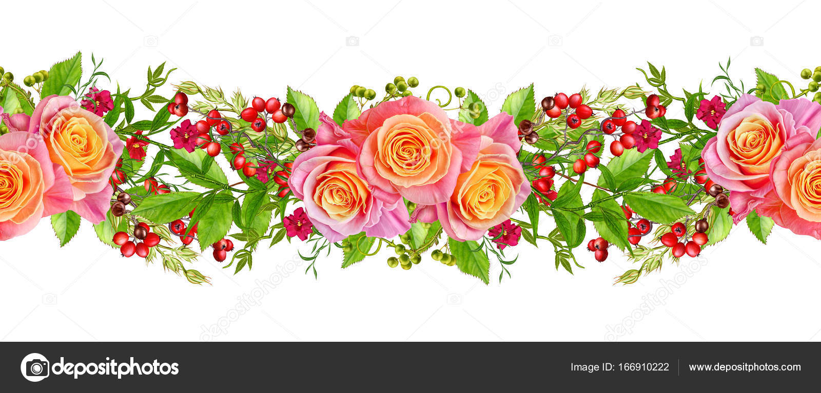 Flower Arrangement Wreath Bouquet Delicate Pink And Yellow Roses