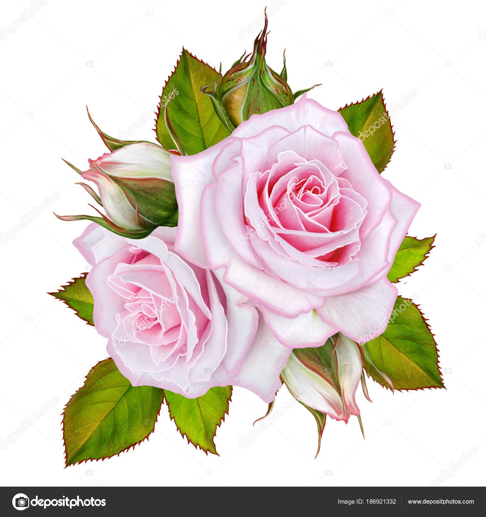 Открытка с благодарностью цветы и ягоды в букете 82