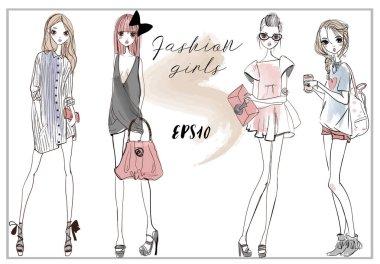 cute fashion girls