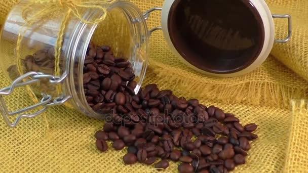 Frisch gerösteten Arabica-Kaffeebohnen