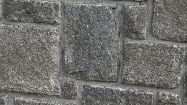 Středověké kamenné zdi. Na zeď. Kamenná zeď textury pozadí