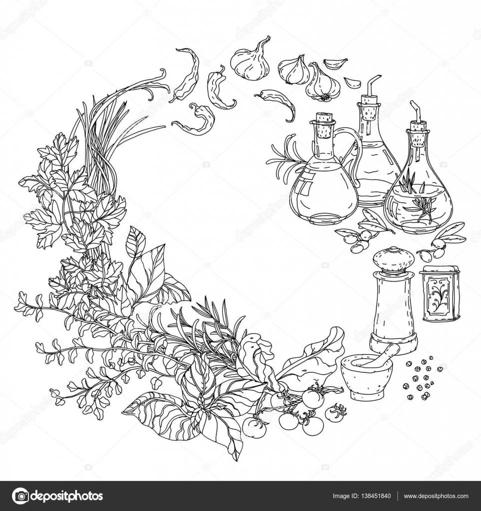 Imágenes Cocina Para Dibujar Libro De Cocina Italiana Para