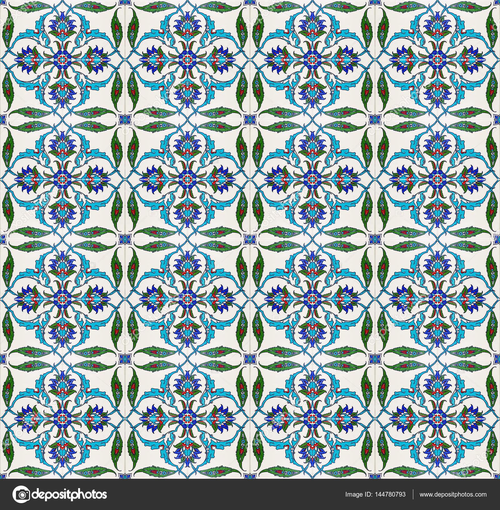 Mosaic tile pattern (islamic motif) — Stock Photo © aosmanpek ...