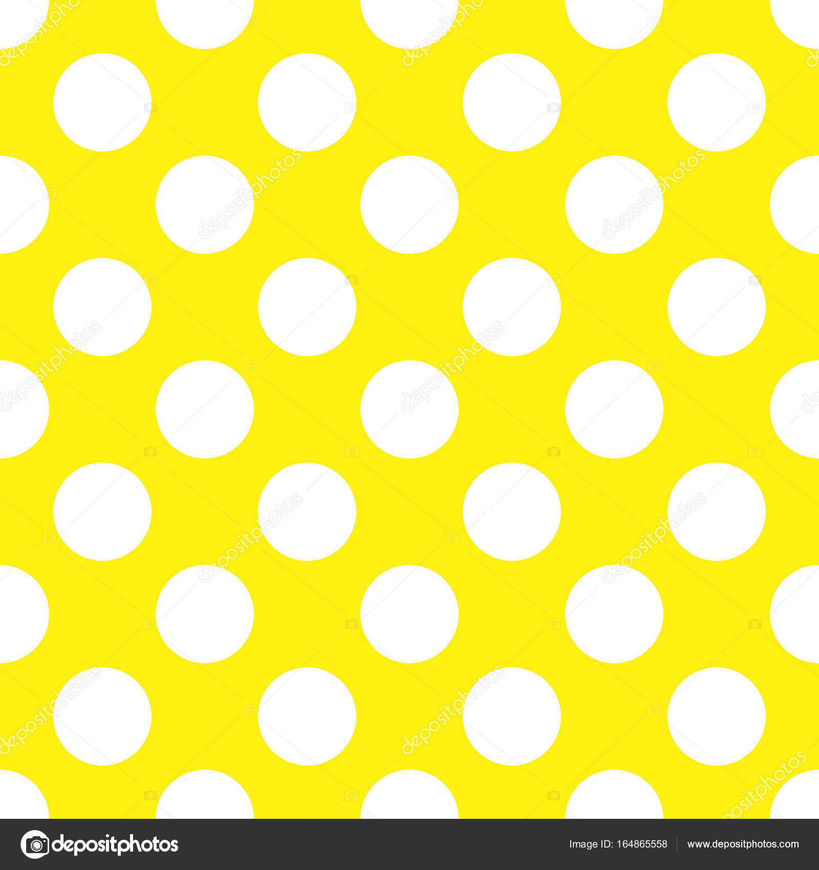 a seamless yellow polka dot background paper pattern photo by prawny