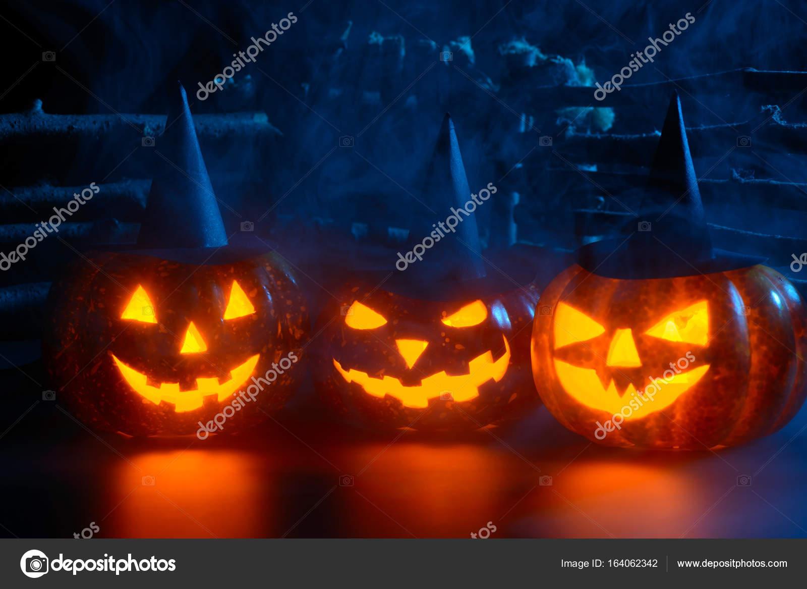 Calabazas Terrorificas Para Halloween Terrorificas Calabazas En - Imagenes-terrorificas-de-halloween