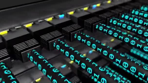 Binární data přenos na Utp kabely smyčka