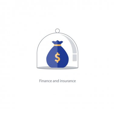 Insurance finance management, budget plan, pension fund, retirement savings
