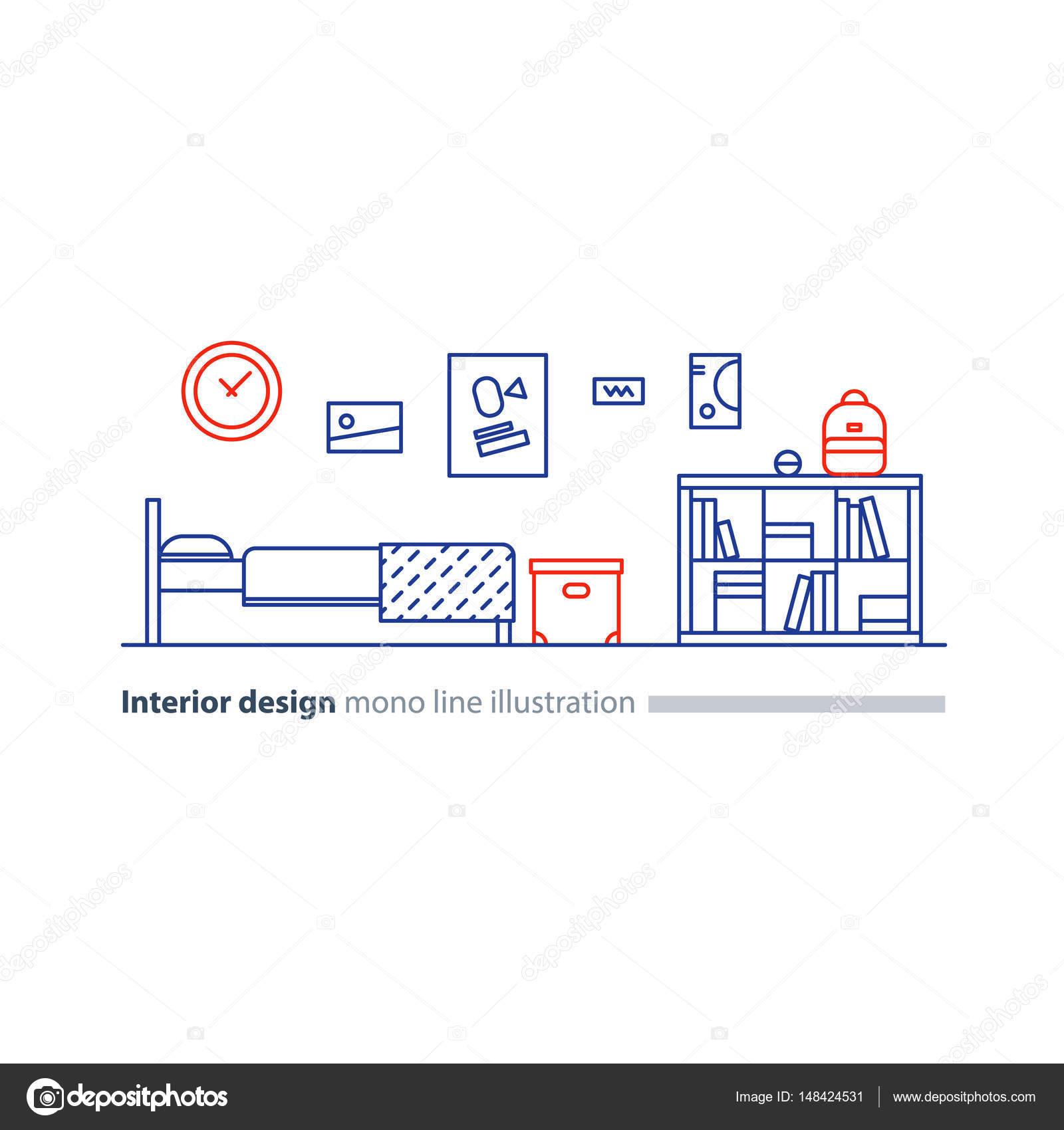 Idee De Decoration Interieure Meubles De Chambre A Coucher Plan D